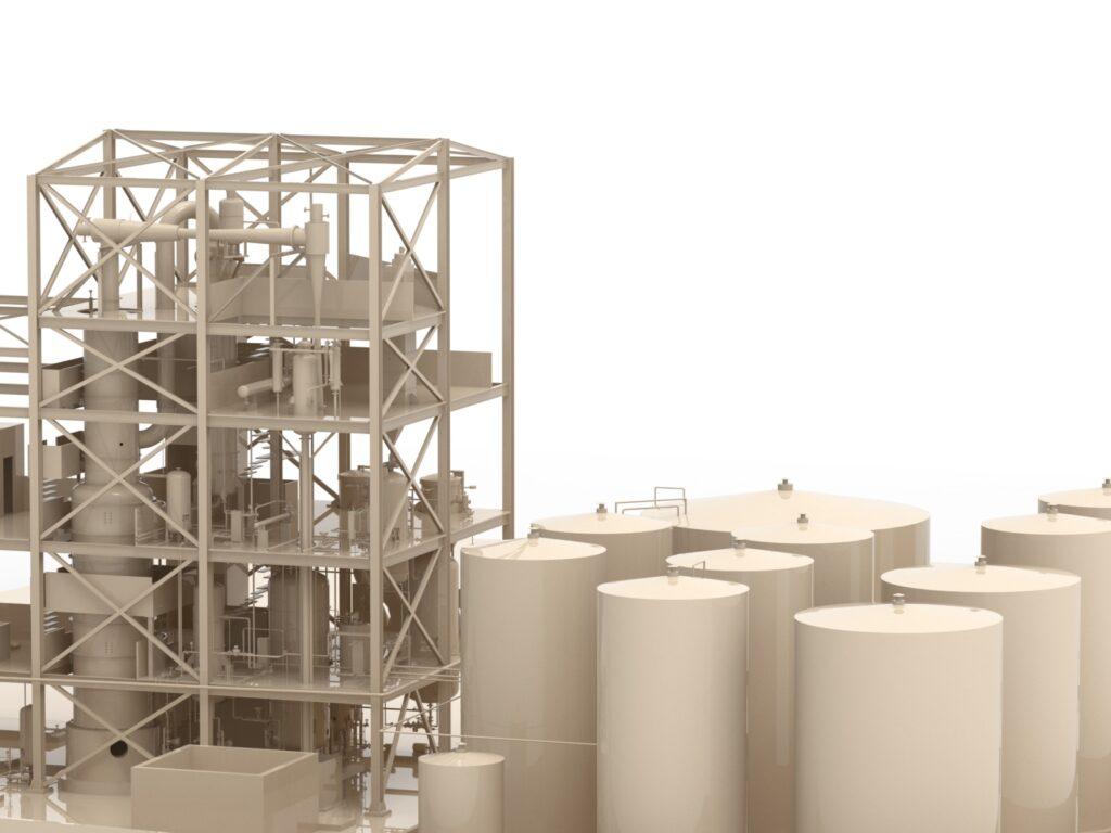 raffineria di olio di palma / Palm oil refinery