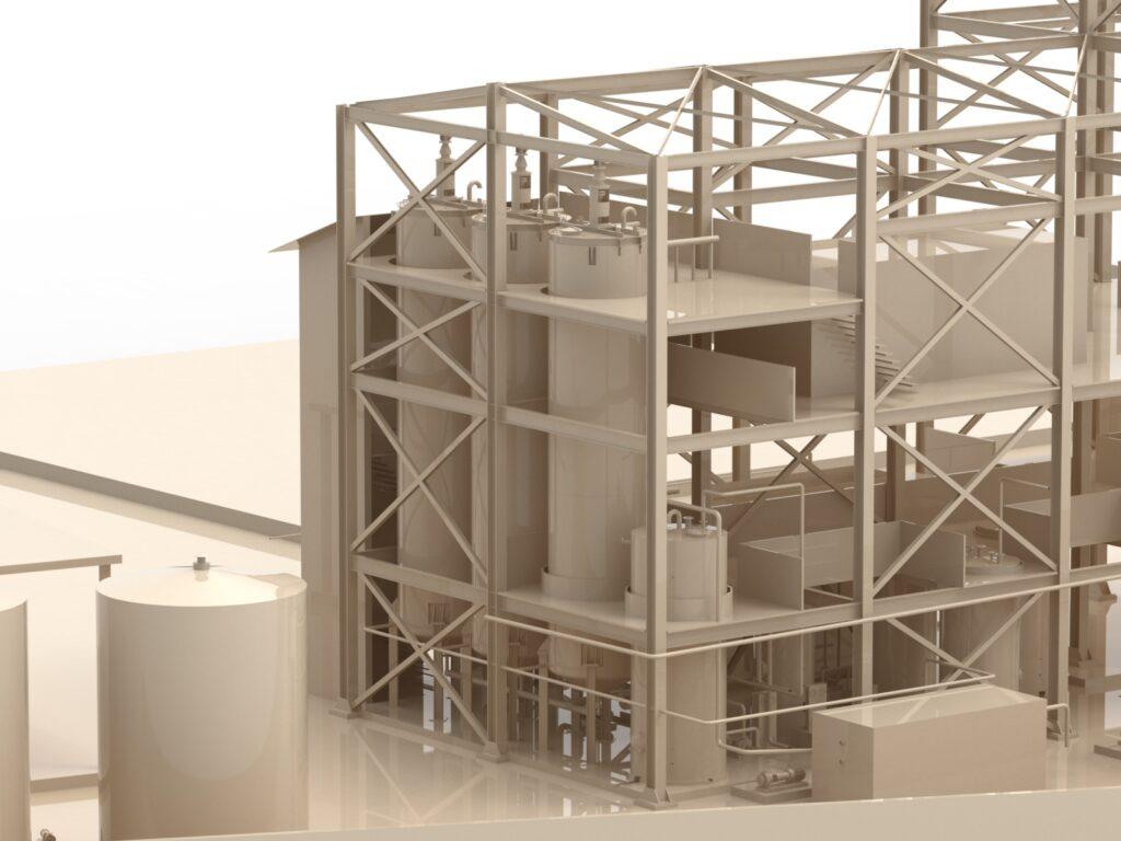 Impianto di frazionamento di olio di palma / Palm oil fractionation