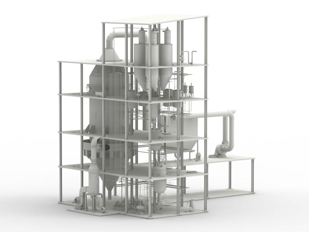 powder Detergent Plant / Impianto per la produzione di sapone in polvere